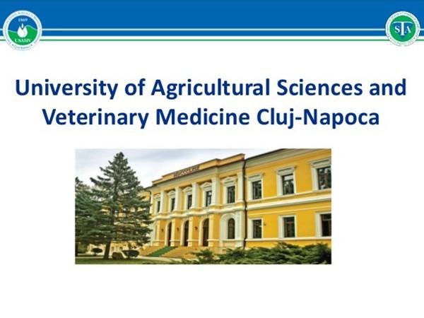 Փորձուսուցում Կլուժ-Նապոկայի գյուղատնտեսական գիտությունների և անասնաբուժական բժշկագիտության համալսարանում
