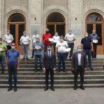Փոխնախարար Արման Խոջոյանը հավաստագրեր է հանձնում գյուղկոոպերատիվների ղեկավարների առաջին խմբին