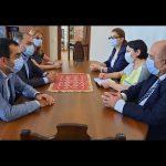(Հայերեն) ՀԱԱՀ պատվիրակությանն ընդունել է Արցախի կրթության, գիտության եւ մշակույթի նախարարը