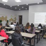 Профориентация в НАУА для мецаморских школьников