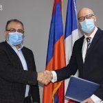 (Հայերեն) Գործակցային հուշագիր Հայաստանում Ֆրանսիական համալսարանի հետ