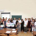 Студентам агрономического факультета вручены грамоты за лучший научный доклад